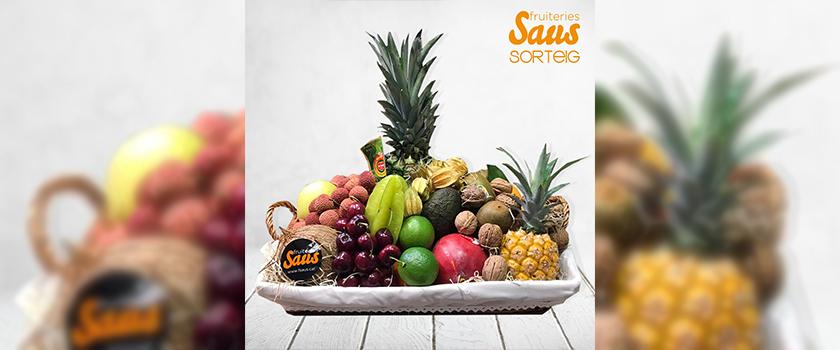Guanya una panera de fruita de temporada